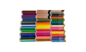 Thornton's Art Supply Colored Pencil Drawing Set (150-Piece)