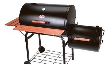 Char-Griller Smokin' Pro Grill & Smoker 37bc31d8-a2fc-4e3d-8c67-6ddc48c8b901