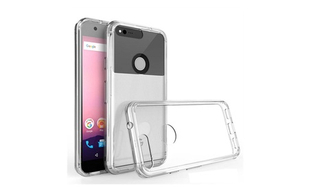 KuKu Mobile Acrylic Case for Google Pixel (Clear) f905abfd-cc01-4c93-9974-068792942e41
