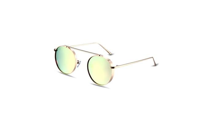 Sleek Thin Wire Aviator Stainless Steel Sunglasses