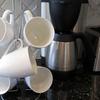 Evelots Metal Cup and Mug Rack Holder
