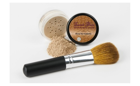 2pc Foundation With Face Brush Kit Mineral Makeup SetS Powder (Light) 1984cc0d-8e79-49b0-8bb5-844475633eb8