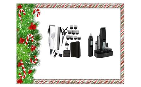 22 Pieces Haircut Clipper Kit Powerful Motors Cuts And Trimmer Gift b1ccd2fa-c365-42e1-ba31-fd5696705d30