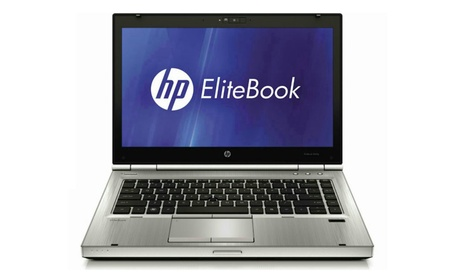 "HP EliteBook 8470p 14"" Laptop, Intel Core i5, 500GB HD (Refurbished)"