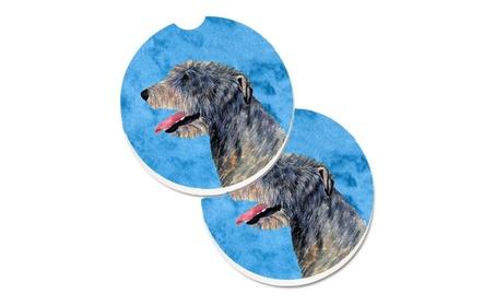 Carolines Treasures SS4782-BUCARC Blue Irish Wolfhound Set of 2 e25396f8-e7af-4369-a011-0c8a3aa0fe10