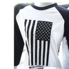 American Pawz flag baseball shirt designed by House Of Pawz