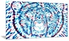 Groupon Goods: Psychedelic Bear Animal Metal Wall Art 28x12