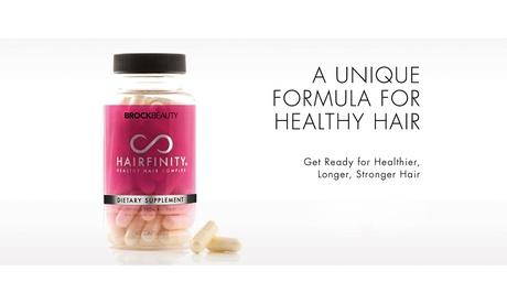 Brock Beauty Hairfinity Healthy Hair Vitamins 60 Capsules