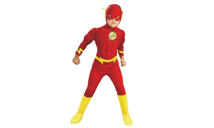 Rubies Costume Co 21075 The Flash Muscle Chest Deluxe Child Costume  sc 1 st  Groupon & Up To 26% Off on Rubies Costume Co 21075 The F... | Groupon Goods