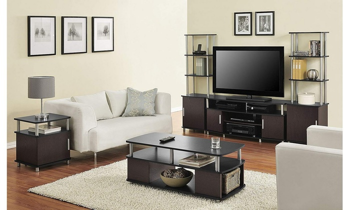 Up To 61% Off on TV Stand Furniture Living Roo... | Groupon ...