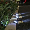 Solar 6-LED Outdoor Path Light