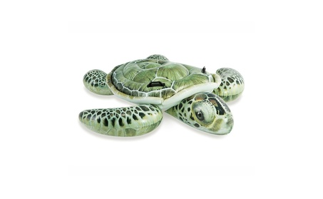 Sea Turtle Inflatable Ride-On Pool Float 95081f32-d5d3-483a-8668-0a1c23bec493