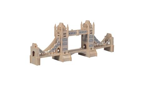 London Tower Bridge Wooden Puzzle ca0e3089-e4b6-4d9f-bf63-a51be71f38da