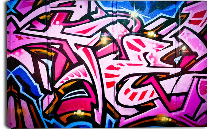 Graffiti prints coupon