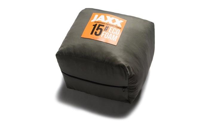 Jaxx Shredded Memory Foam Refill- Stuffing for Bean Bags and Pillows - Jaxx Shredded Memory Foam Refill- Stuffing For Bean Bags And