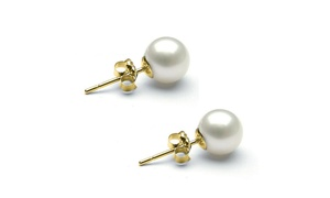 3.00 CTTW Cultured Pearl in 18K Gold