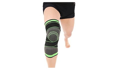 Large 3D Compression Knee Brace Support Breathable For Running Jogging d4cf453f-a252-4970-bd3a-78ee987325f8