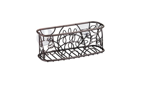 mDesign Kitchen Sink Suction Holder for Sponges, Scrubbies, Soap 97a8c2ee-2bd8-41a5-8ebf-7060609dd9f7