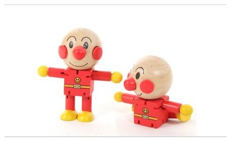 Wooden Bread Superman Puppet Dolls Toy Kid Learn Building Blocks Toy 5fcd57b7-2915-49bf-9aa3-f6ada9599064