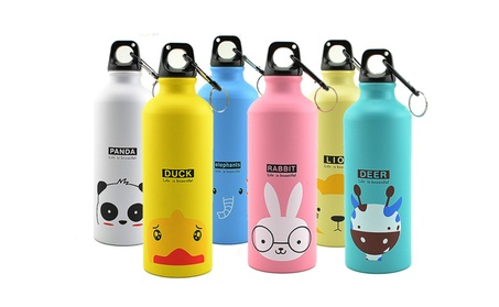 Stainless Steel Cartoon Animal Design Vacuum Thermos Cup Gift 500ML 14067591-20b4-42b2-94ec-eea4d14e5f51