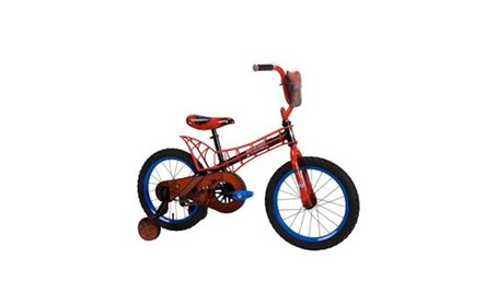 "Huffy 16"" Kids Bike with Webbed Frame - Spider-Man bb47a64d-68fb-45b3-a1b5-155f22e290a1"