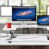 Sit / Stand Preassembled Adjustable Height Elevating Desktop