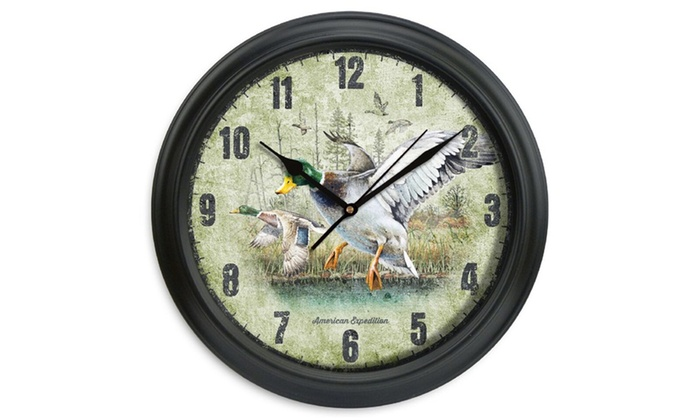 American Expedition 11 5in Diameter Clock Groupon