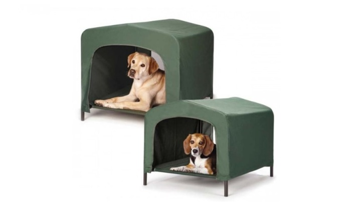 Waterproof Dog Cot or Pet Tent u2013 Indoor/Outdoor Dog House Pet Home  sc 1 st  Groupon & Waterproof Dog Cot or Pet Tent u2013 Indoor/Outdoor Dog House Pet Home ...