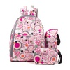Fashion Baby Diaper Bagas Moomy Nappy Backpack with Bottle Bags
