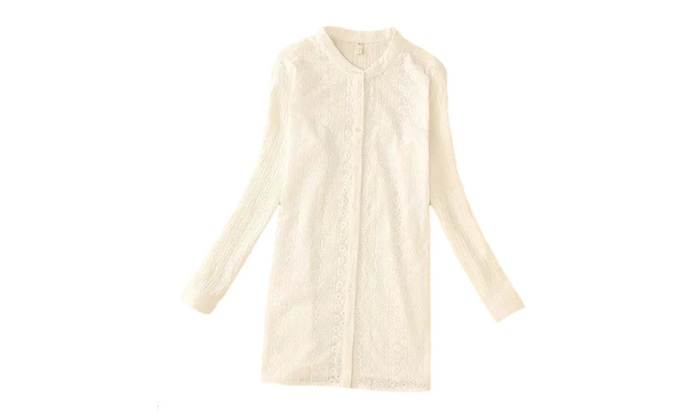 Women's Fashion Embroidered Long Sleeve Blouse