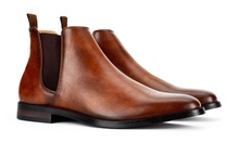 Groupon.com deals on Harrison Mens Travis Classic Chelsea Boots