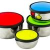 Stainless Steel Food Storage Set (8-Piece)