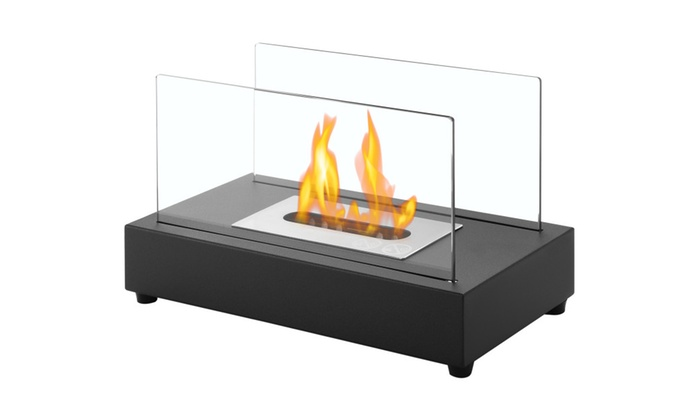 Tower - Tabletop Portable Ventless Ethanol Fireplace By Ignis