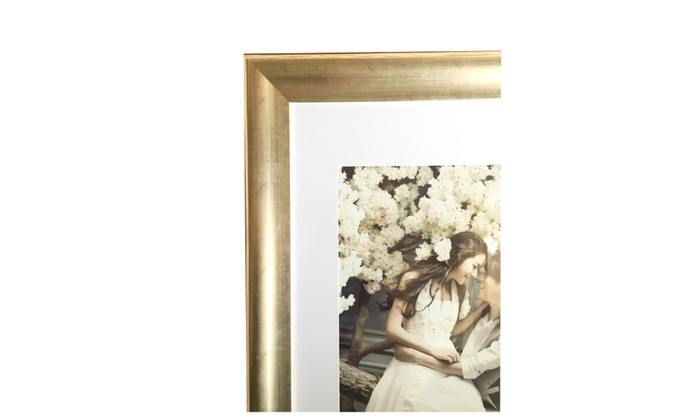 Lilian Antique Gold Collage Display 22x28 Photo Frame | Groupon