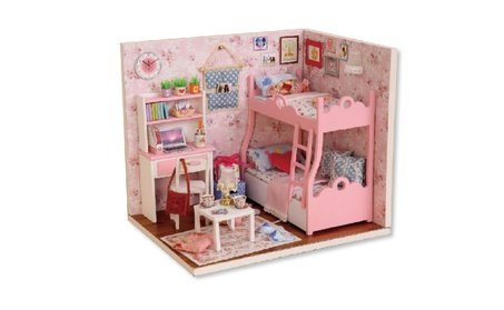 Handmade Craft Miniature Doll House Diy Furniture Assemble Kits a92b9294-d72c-4746-9bf1-68b5fd10488e