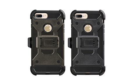Apple Iphone 7 Plus Performance Hybrid Case Holster Combo