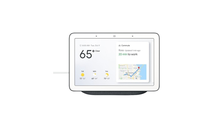 Smart Home Controller with Google Assistant Google Home Hub