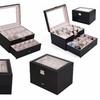 Large 20 Slot Leather Watch Box Organizers Display
