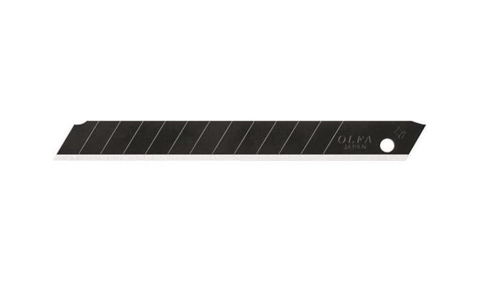 Olfa 9148 Ultra-Sharp Snap Off Knife Blade 9 mm, Black