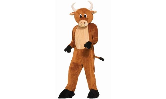 Brutus The Bull Mascot Costume