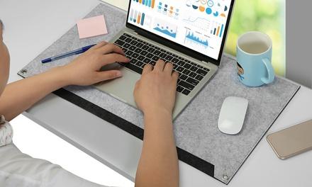 iMounTEK Large Non Slip Soft Felt Mouse Pad for Gaming & Office Work