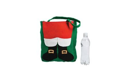 Santa Claus Tote Bag Fuzzy Gift c5438c58-8b6b-4c3b-9059-77e1f6f877a2