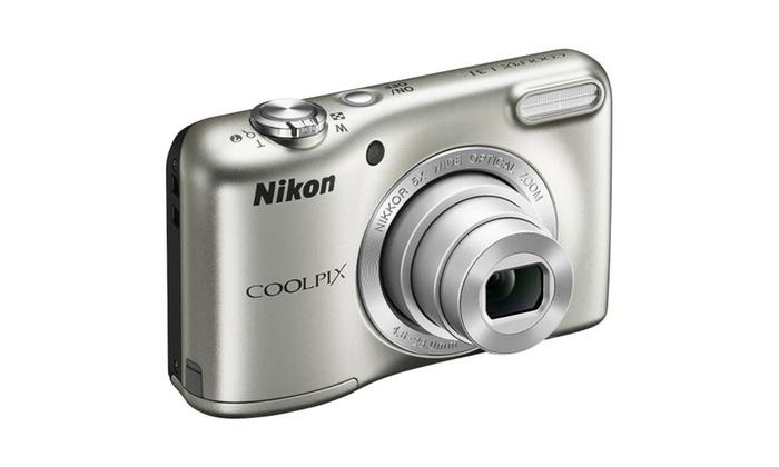 Nikon Coolpix L31 16.1MP 5X Zoom 720P HD Video Digital Camera Refurb