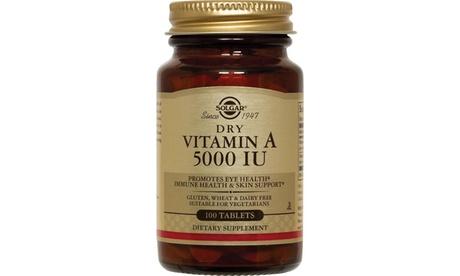 Solgar Dry Vitamin A 5000 IU
