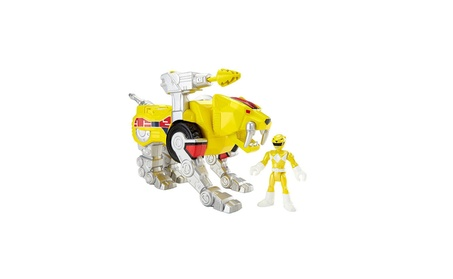 Fisher-Price Imaginext Yellow Ranger and Sabertooth Zord eeb29e27-1374-4ab7-a450-87191eaa9764