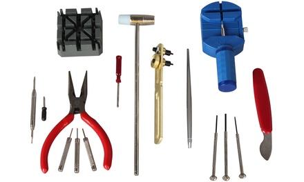 Watch Opener Tool Kit & Repair Set - 16pcs Set