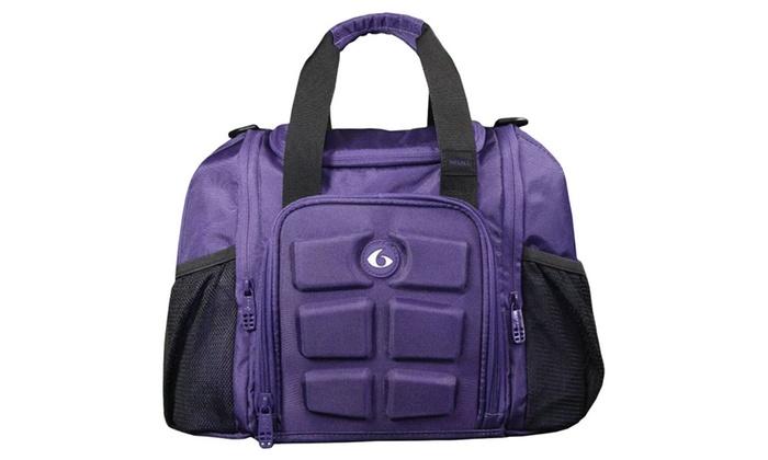 6 Pack Fitness Innovator Mini Pink Purple Bag Meal Managemen