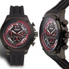 Force One Valken Chronograph Mens Watch Black/Red