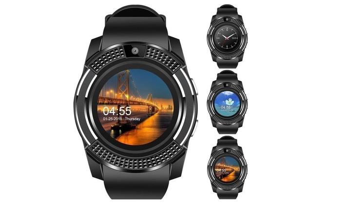 Ametag V8 Waterproof Sports Smartwatch Fitness Tracker