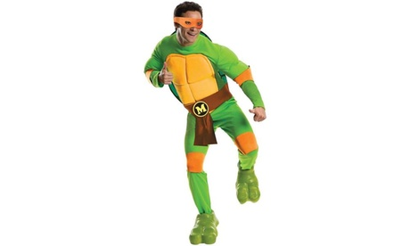 Teenage Mutant Ninja Turtles Deluxe Michelangelo Adult Costume e87d256c-d1be-482c-bf6e-c95e0407a04f